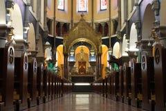 Innerhalb einer Kathedrale in Irland Lizenzfreie Stockbilder