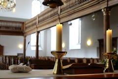 Innerhalb einer Kirche lizenzfreies stockfoto