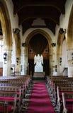 Innerhalb einer Kirche in Northampton stockbilder
