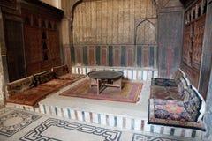 Innerhalb einer Moschee Stockfotos