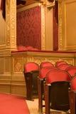 Innerhalb eines alten Theaters stockfotos