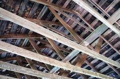 innerhalb eines Dachs Lizenzfreie Stockbilder