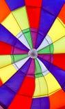 Innerhalb eines Heißluftballons Stockfotos