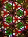 Innerhalb eines Kaleidoskops stockfoto