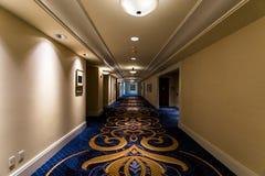 Innerhalb Gaylord Hotels am nationalen Hafen in Maryland lizenzfreie stockbilder