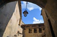 Innerhalb Sighisoara-Festung Rumänien Lizenzfreie Stockbilder