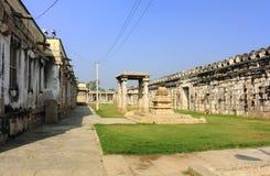 Innerhalb Sri Ranganatha Swamy des Tempels Stockfotografie