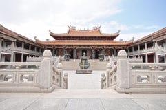 Innerhalb Tien Hou des Tempels in Macau Lizenzfreie Stockfotos