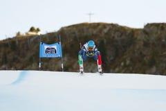 INNERHOFER Christof in FIS Alpien Ski World Cup - SUPE van 3de MENSEN Royalty-vrije Stock Afbeelding
