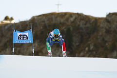 INNERHOFER Christof i FIS alpina Ski World Cup - 3rd MÄNS SUPE Arkivfoto