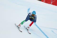 INNERHOFER Christof i FIS alpina Ski World Cup - 3rd MÄNS SUPE Royaltyfria Foton