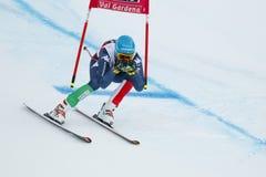 INNERHOFER Christof i FIS alpina Ski World Cup - 3rd MÄNS SUPE Royaltyfri Fotografi
