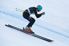 INNERHOFERChristof (ITA). VAL GARDENA - GROEDEN, ITALY 21 December 2013. INNERHOFERChristof  (ITA) competing in the Audi FIS Alpine Skiing World Cup MEN'S Royalty Free Stock Photography