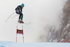INNERHOFER Christof (ITA). VAL GARDENA, ITALY - DECEMBER 21:  INNERHOFER Christof (ITA) races down the Saslong competing in the Audi FIS Alpine Skiing World Cup Stock Images
