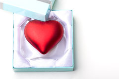 Innerliebessymbolgeschenk Valentinsgruß-Tagesgeschenk Stockfoto