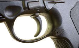 Innesco della pistola Fotografie Stock Libere da Diritti