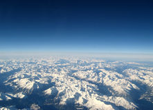 Innevate mountains stock image
