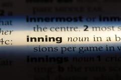 inning obraz stock
