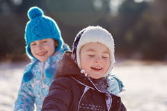 Innocence of childhood Royalty Free Stock Photography