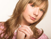 Innocence girl Stock Photo
