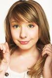 Innocence girl Stock Image