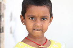 Innocence Indian cute girl Royalty Free Stock Image