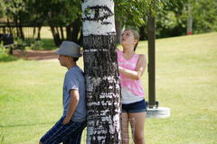 Innocence. Two teens relaxing at the park on summer break Royalty Free Stock Photography