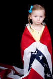 Innocent American Girl Royalty Free Stock Photography
