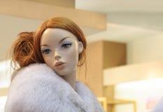 Innocent artificial beauty Stock Photo