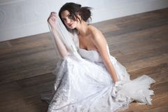 Innocent Bride Stock Photo