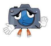 Innocent Camera cartoon Stock Images