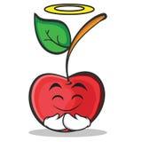 Innocent cherry character cartoon style Stock Photo