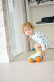 Innocent child playing Royalty Free Stock Photography