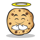 Innocent face sweet cookies character cartoon Royalty Free Stock Image