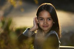 Innocent Girl Royalty Free Stock Images