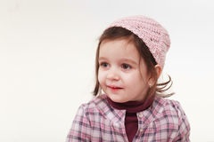An innocent girl Royalty Free Stock Images