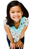 Innocent girl smiling Royalty Free Stock Images
