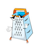 Innocent grater cartoon Stock Images
