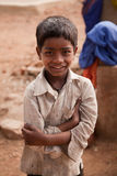 Innocent happy indian child. Innocent Smile of indian child in playground Stock Image