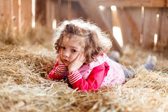 Innocent Little Girl Stock Image