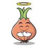 Innocent onion character cartoon collection Stock Photos