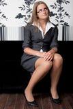 Innocent secretary Royalty Free Stock Image