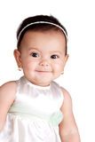 Innocent smile. The innocent smile of a baby girl Stock Photos