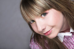 Innocent teen girl Stock Image