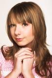 Innocent teen girl Stock Photography