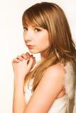 Innocent teen girl Stock Photo