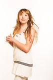 Innocent teen girl Royalty Free Stock Images