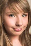 Innocent teen girl Royalty Free Stock Photography