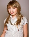 Innocent teen girl Stock Photos