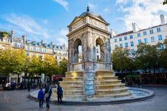 Innocenti del DES di Fontaine a Parigi, Francia Immagine Stock